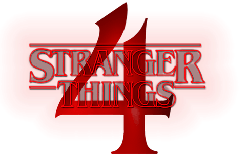Stranger Things 4 Logo by 8FLiX
