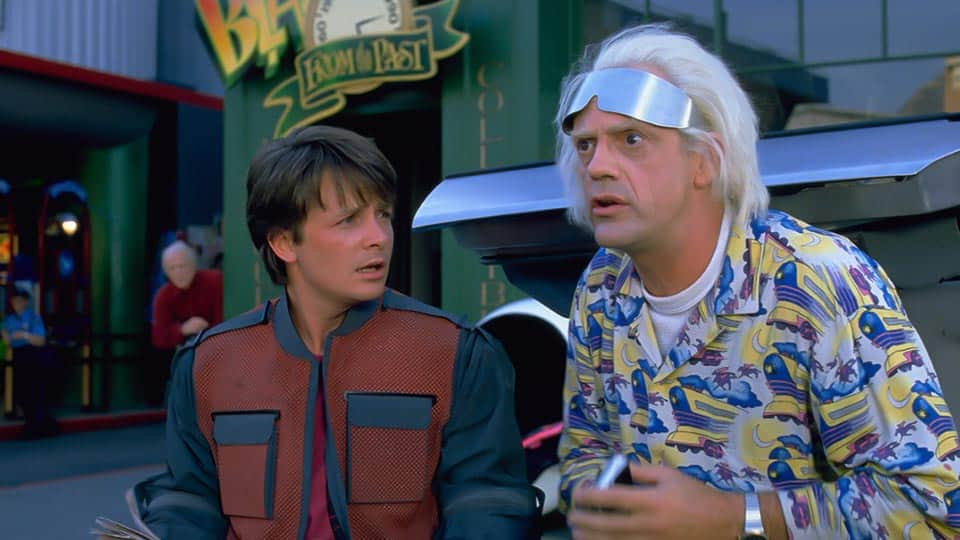 Back to the Future Part II (1989) • Screenplay