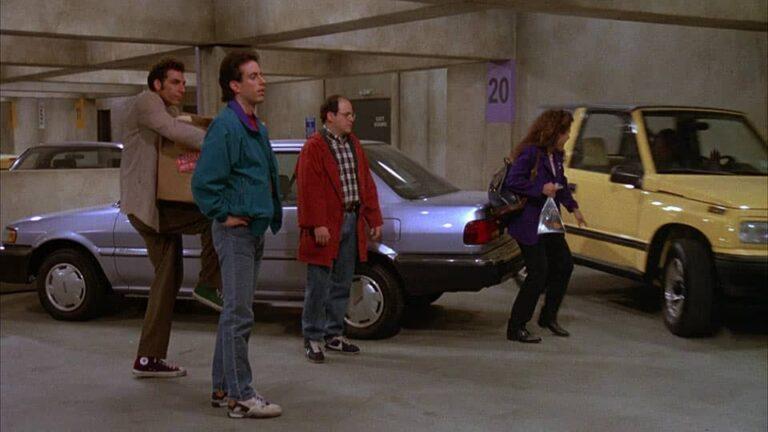 Seinfeld – 'The Parking Garage' (1991) • Teleplay