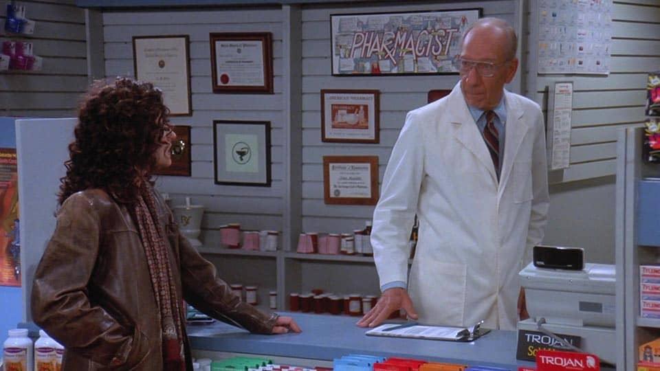 Seinfeld – 'The Sponge' (1995) • Teleplay