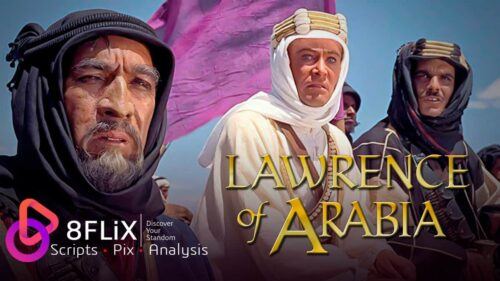 Lawrence of Arabia plot cast awards facts social card