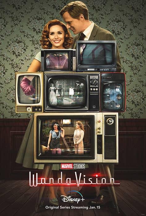 The WandaVision series poster