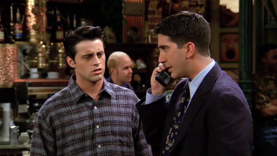 Friends – 'The One With the Ick Factor' (1995) • Teleplay