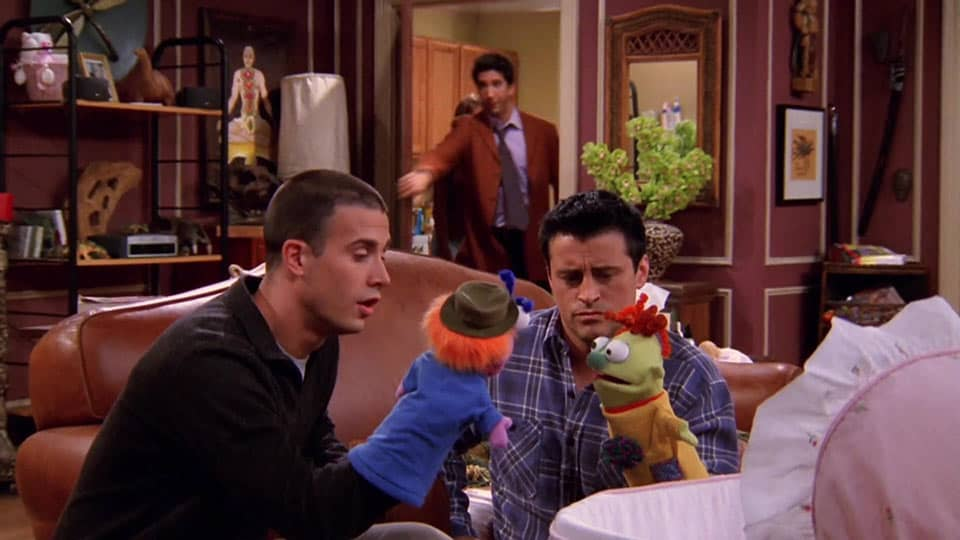 Friends – 'The One With the Male Nanny' (2002) • Teleplay