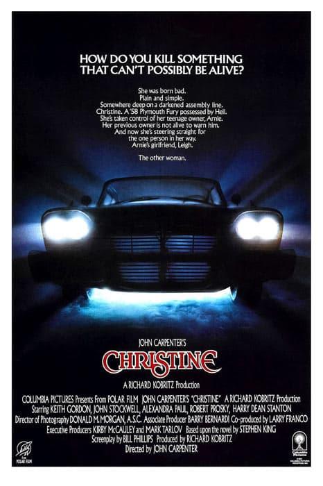 The Christine movie poster
