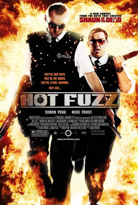 The Hot Fuzz movie poster