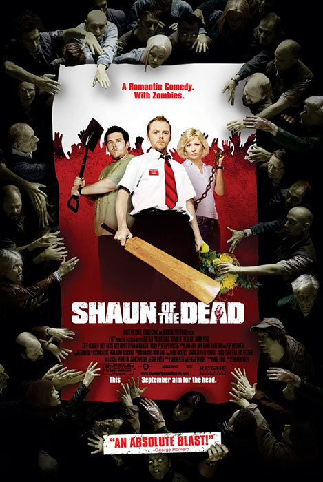 The Shaun of the Dead movie poster
