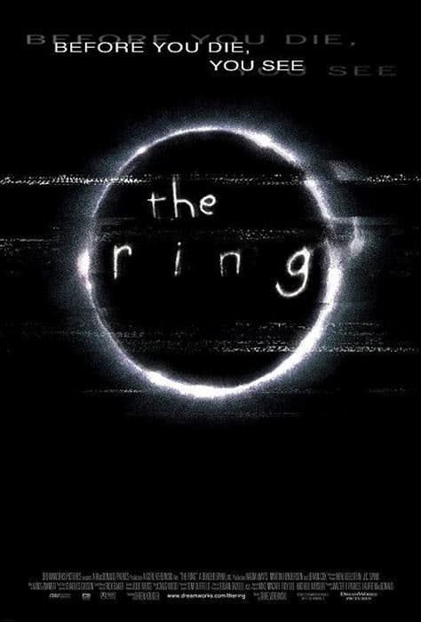 The Ring 2002 movie poster